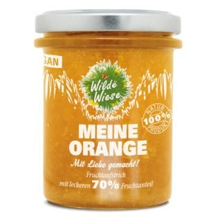 meine wilde wiese Orange Fruchtaufstrich bio made in germany vegan