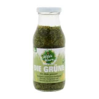 meine wilde wiese Die Grüne Sauce bio made in germany vegan knoblauch