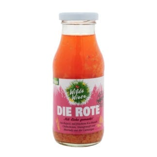 meine wilde wiese Die Rote Sauce bio made in germany vegan