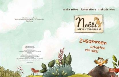 Nobbi der Mutmachhase Bilderbuch Band 2